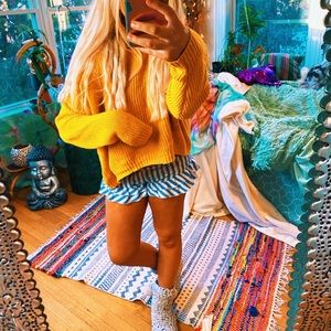 Wild Fable Mustard Yellow Cozy Knit ✨